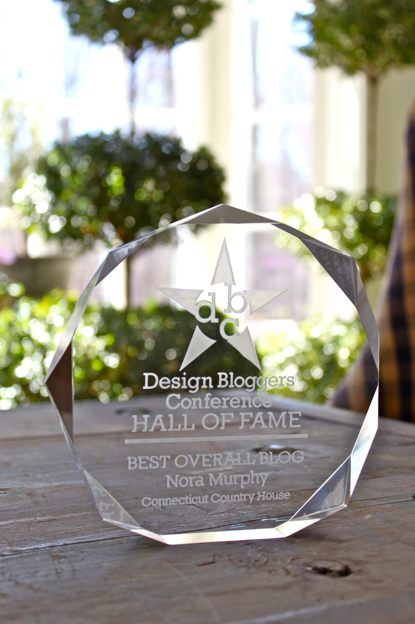 Design Bloggers Conference Hall of Fame Winner 2016